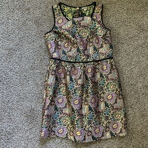 Eyeshadow Colorful Dress a Size Large